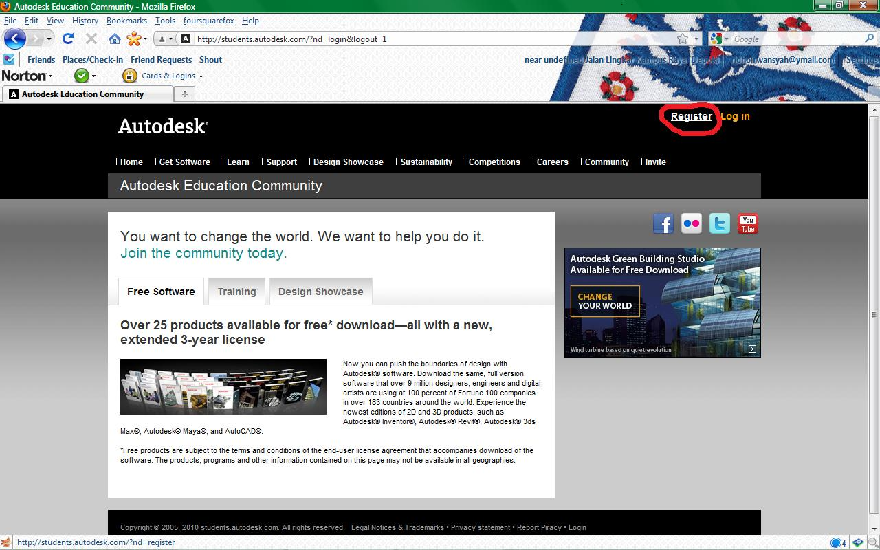 How To Get Autodesk Inventor Student Edition Ridho Irwansyah