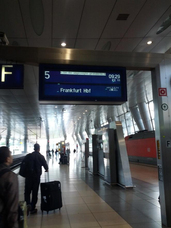 Frankfurt Flughafen Bahnhof